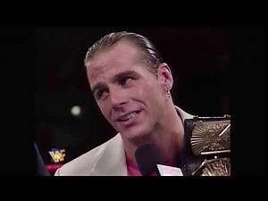 WWF Raw 9/09/1996 - Shawn Michaels Comments on Facing Mankind