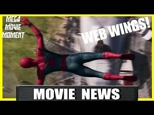 Spider-Man Homecoming Trailer Coming Tomorrow and Web Wings! | Mega Movie Moment