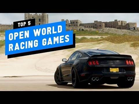 TOP 5 Best Open World Racing Games (PS4 Xbox One PC)