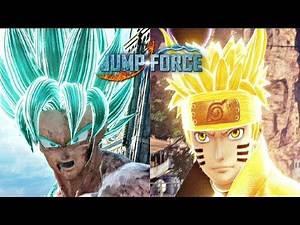 Jump Force - Goku vs Naruto Gameplay (1080p 60fps)
