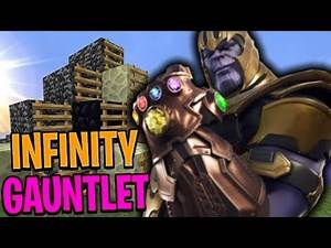 USING the INFINITY GAUNTLET | Minecraft Bed Wars