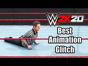 WWE 2K20 (2019) The Crippled Referee Bug (Funny Animation Glitch)