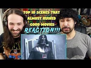 TOP 10 SCENES That Almost RUINED Good Movies REACTION & ANALYSIS!!!