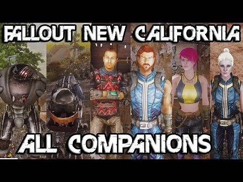Fallout New California All Vault 18 Companions Path of the Scientist