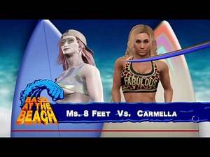 WWE 2K17 MS. 8 FEET Submission Single Match (PS4 CAW DIVA)