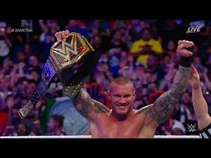 All Of Randy Orton Championship Wins In WWE HD