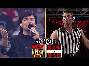 WWF RAW vs. WCW Nitro - May 11, 1998 Full Breakdown - Bischoff Challenges McMahon To A Shoot Fight