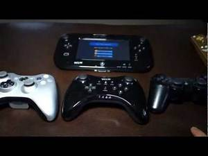 Controller Comparison Review - Wii U, Xbox 360, PS3