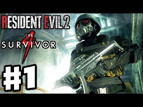 Resident Evil 2 Remake - Gameplay Walkthrough Part 1 - 4th Survivor! Hunk and Tofu!