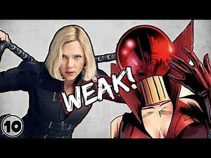 Top 10 Marvel Characters Too Weak For The MCU