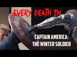 EVERY DEATH IN #24 Captain America: The Winter Soldier (2014)