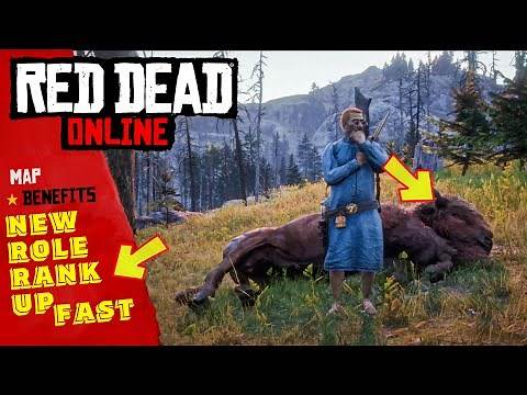 GUIDE TO RANKING THE RED DEAD ONLINE NATURALIST ROLE - TIPS AND TRICKS
