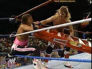 Intercontinental Champion Bret Hart vs Shawn Michaels 1992 - Ladder Match
