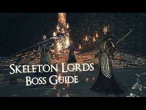 Dark Souls 2 - Boss - How to - Skeleton Lords