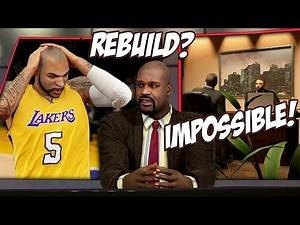 NBA 2K15 Lakers MyGM #1 - Naked GM Hired To Do The Impossible, Rebuild Lakers Around Kobe!