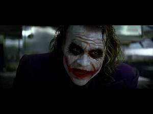 Joker Entrance - The Dark Knight In Hindi