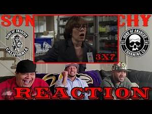"""SONS OF ANARCHY SEASON 3 EPISODE 7 REACTION """"WIDENING GYRE"""""""