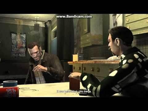 GTA IV- Roman & Niko Bellic (FUNNY)