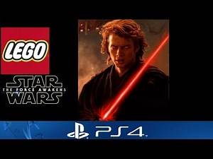 Lego Star Wars The Force Awakens PS4 - Dark Side Anakin Skywalker (Darth Vader) Custom Character!