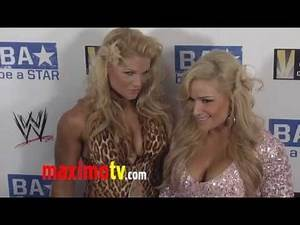 WWE Divas: Beth Phoenix and Natalya at WWE SummerSlam 2011 LA Event