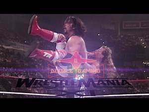WWE 2K17 RE-CREATING WRESTLEMANIA 11 CO-MAIN EVENT: SHAWN MICHAELS VS DIESEL