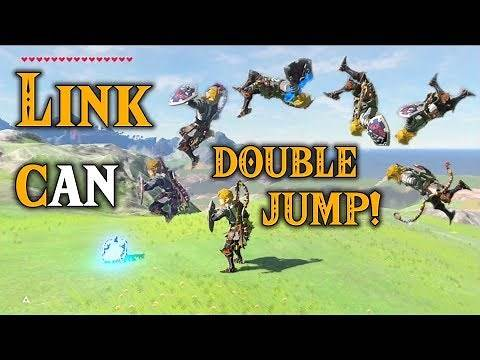 Link can DOUBLE JUMP! The Master Tricks in Zelda Breath of the Wild