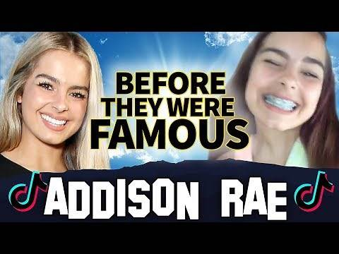 Addison Rae | Before They Were Famous | Tik Tok Star