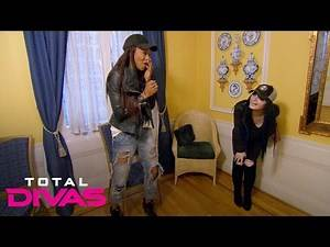 Alicia Fox and Paige check in to a haunted bed and breakfast: Total Divas Bonus Clip: March 22, 2016