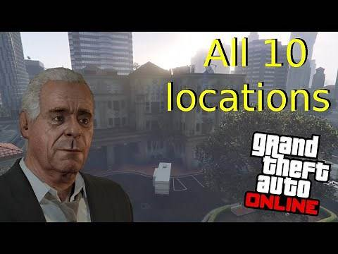 gta 5 online all 10 locations for Solomon's movie collectibles