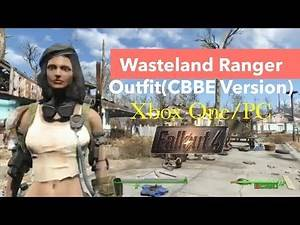 Fallout 4 Xbox One/PC Mods|Wasteland Ranger Outfit(CBBE Version)