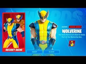 UNLOCKING WOLVERINE in Fortnite Chapter 2 Season 4 Week 1