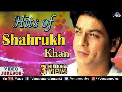 SHAHRUKH KHAN HITS : Best Bollywood Romantic Songs | VIDEO JUKEBOX | Best Hindi Songs