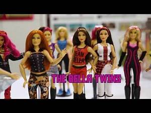 WWE Superstars Fashion Doll Line 🌟Behind the Scenes 🌟 Mattel Doll World 🌟 WWE Custom Dolls