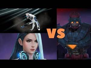 T3 Quicksilver & T3 Luna Snow VS Master Mold (Solo Runs With Type Disadvantage)- Marvel Future Fight