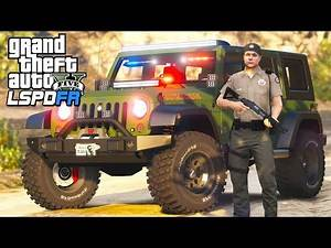 GTA 5 - LSPDFR Ep373 - How Many Mountain Lions Are There??