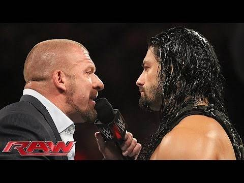 Roman Reigns makes a deal with The Authority: Raw, June 1, 2015