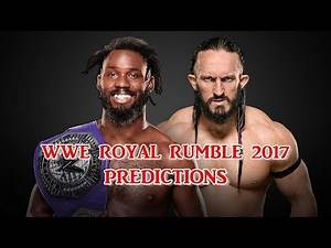 WWE Royal Rumble 2017 Cruiserweight Championship Rich Swann vs. Neville
