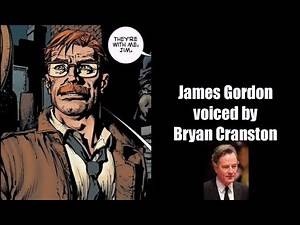 Fan Casting Batman Unmasked Allies & Gotham Citizens Voice Actors Part 1