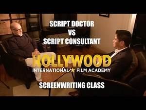 Screenwriting Lesson | Script Dr VS Consultant