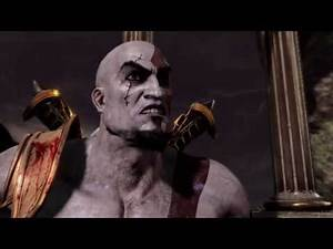 God of War 3 Kratos vs Zeus with God of War 2 Final Theme & Blades of Athena