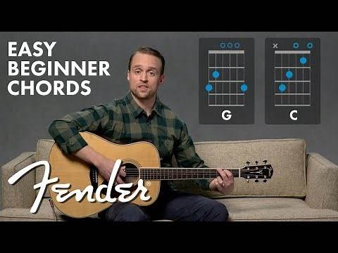 How To Play The G Chord C Chord on Guitar | Fender Play™ | Fender