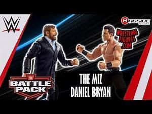 WWE FIGURE INSIDER: The Miz & Daniel Bryan - WWE Battle Packs 49
