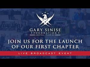 Gary Sinise Foundation Central Florida Live Broadcast Event