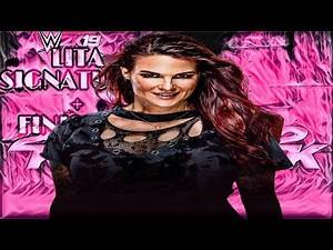 WWE 2K19 - LITA SIGNATURES + FINISHERS