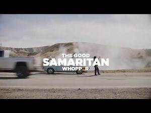 Burger King Staged A Car Fire On A Highway | Good Smartian Whopper | Videology