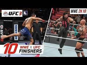 EA Sports UFC 3 - Top 10 WWE Finishers