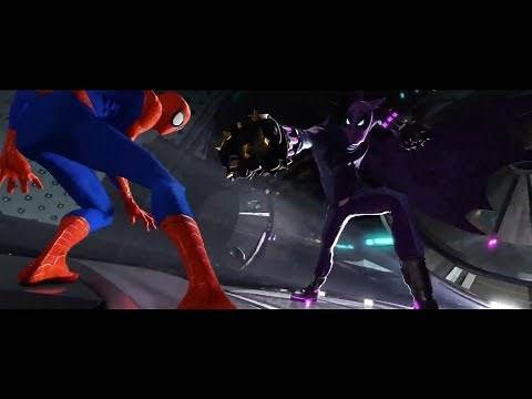 Spider-Man vs Green Goblin & Prowler (Spider-Man Into the Spider-Verse)