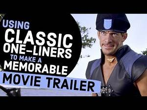 How to Create a Memorable Movie Trailer with Classic One-liners & Movie Quotes
