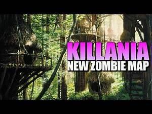 KILLANIA - New Zombie Map! (Call of Duty Zombies Map)