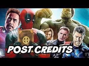 Once Upon A Deadpool Post Credit Scene - Avengers Marvel Easter Eggs Breakdown